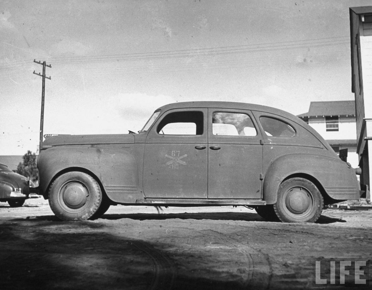 1941 Plymouth From Life Magazine Collection G503 Military Vehicle Cars For Sale